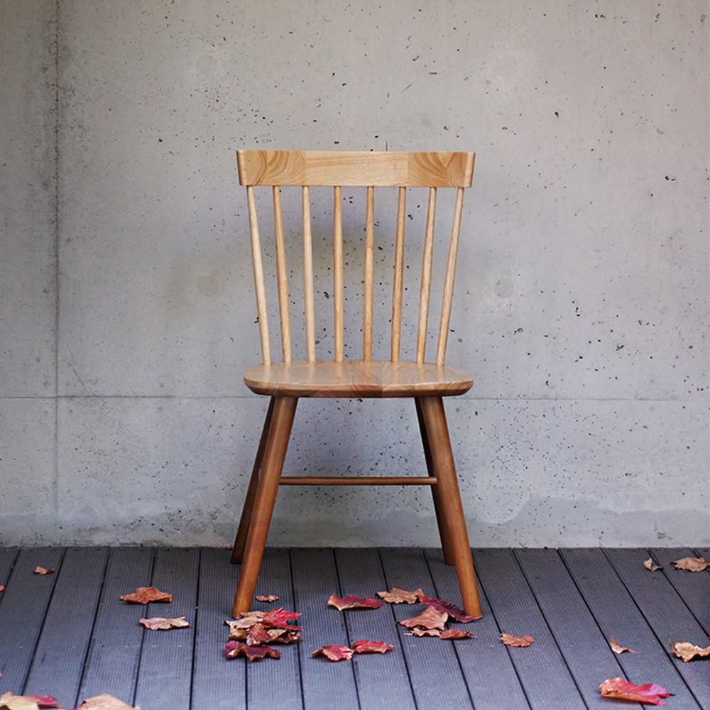 라로퍼니처 아몬드 원목 식탁의자 카페의자 인테리어 인테리어의자, 단품