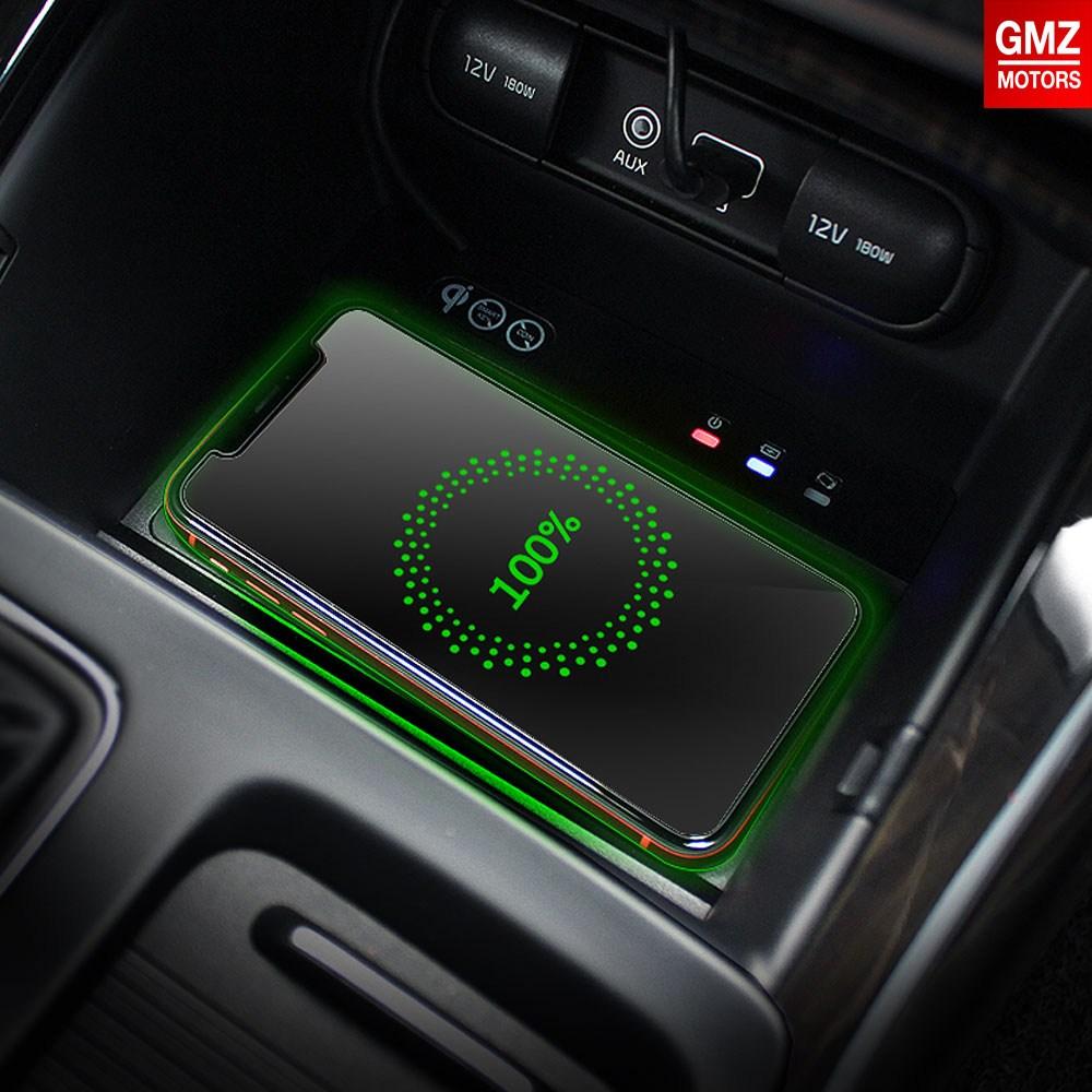 GMZ 순정매립형 퀵차져 고속 무선충전패드 최고급형 차량충전기, 더뉴카니발(2019) 전용, 1개