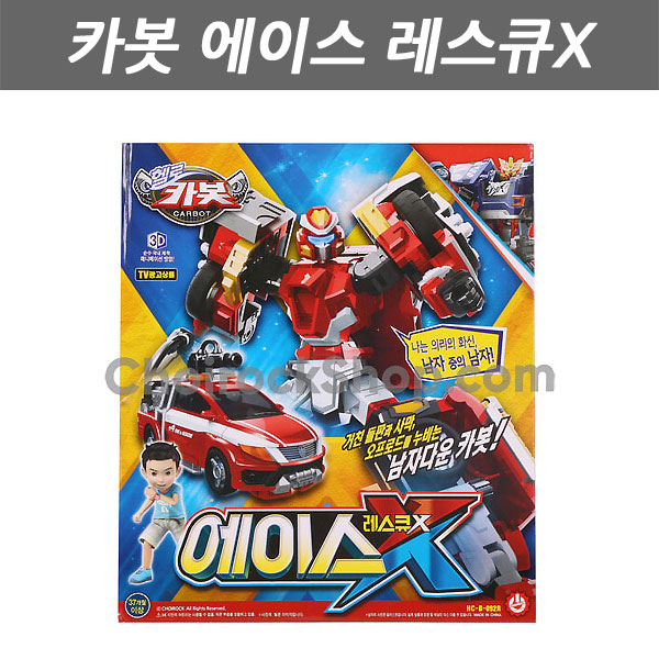 JJMALL CARBOT 펜타스톰 RETURNS 변신로봇 자동차 ACE RESCUE-X