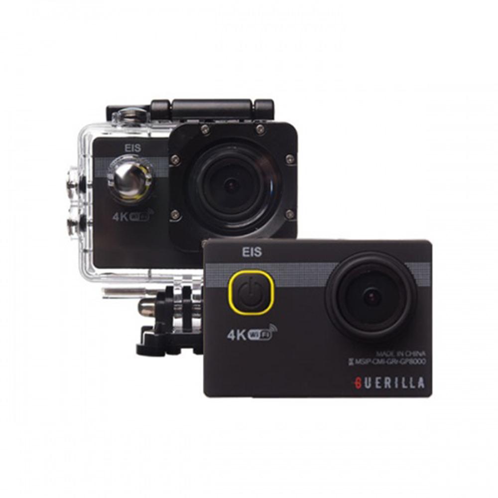 더블유 WIFI 유튜브 방송용 브이로그 카메라 국민 가성비액션캠 4k ULTRA HD 30m 방수 가능 액션캠, ultrapro-8500 4K(손떨림방지)/화이트/본품(내장메모리없음)
