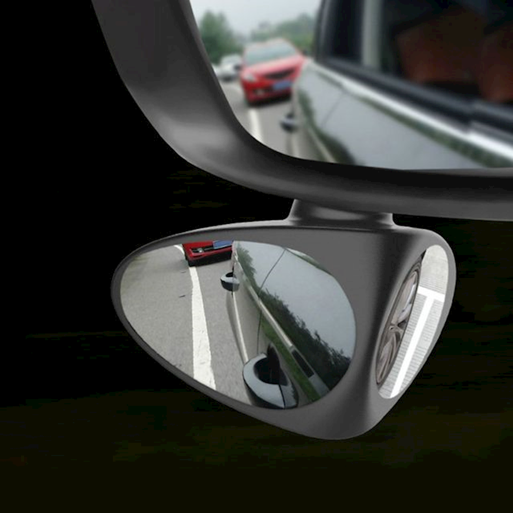 한느낌 사이드 주차 사각지대 차선변경 보조 미러 black 초보운전 사용이편리한, 1개