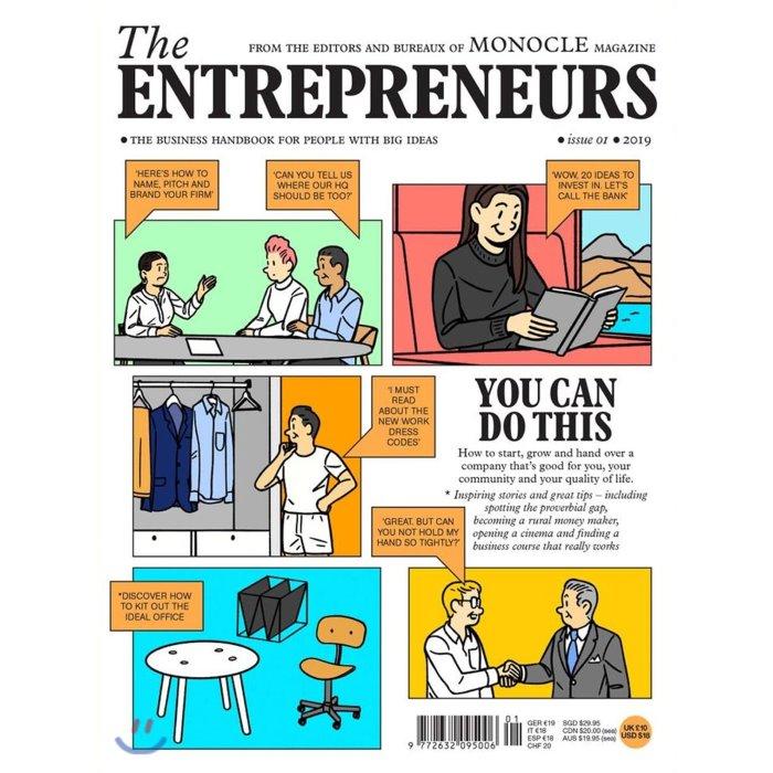 Monocle The Entrepreneurs (연간) : 2019년 No. 1, Gestalten Verlag