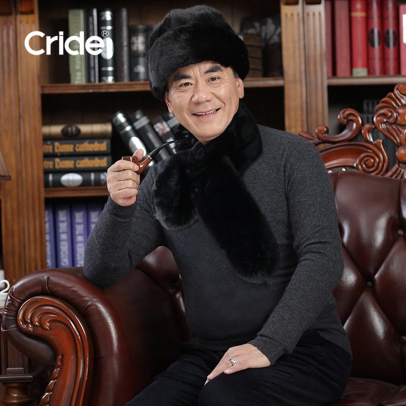 남자 중노년층 보온 헤드 캡 할아버지 동북 솜모자 여성 추가 노인