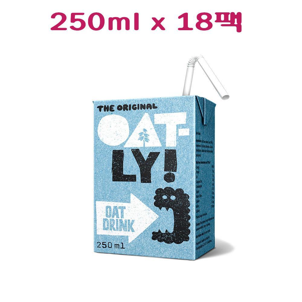 식물성 오트밀크 오트밀우유 오트밀음료 오틀리 귀리음료 오리지날 오틀리귀리우유 DSSP 귀리우유 팩, 1개