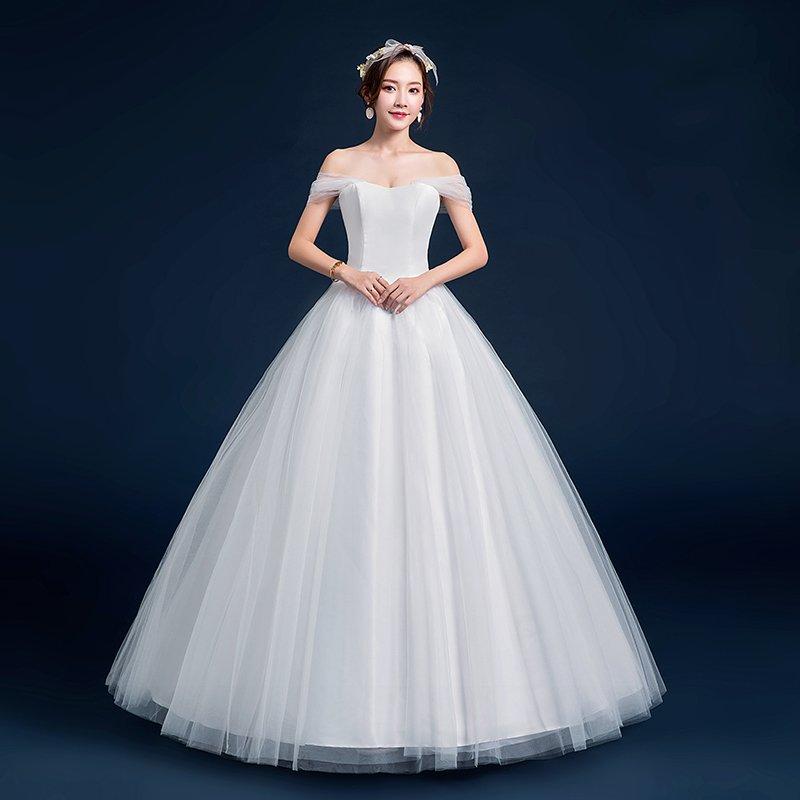 벨르비쥬 람보 매듭포인트 웨딩드레스
