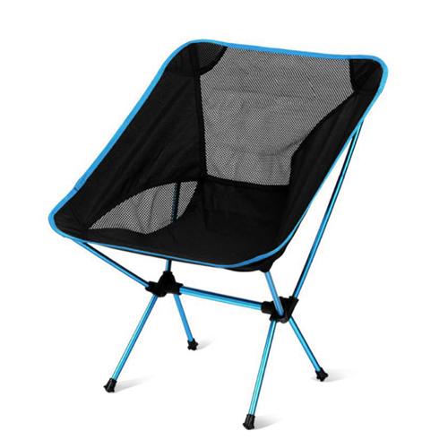 캘리웨이브 캠핑의자 초경량 알루미늄 접이식 미니 롱 릴렉스체어, 1개, 미니스카이블루