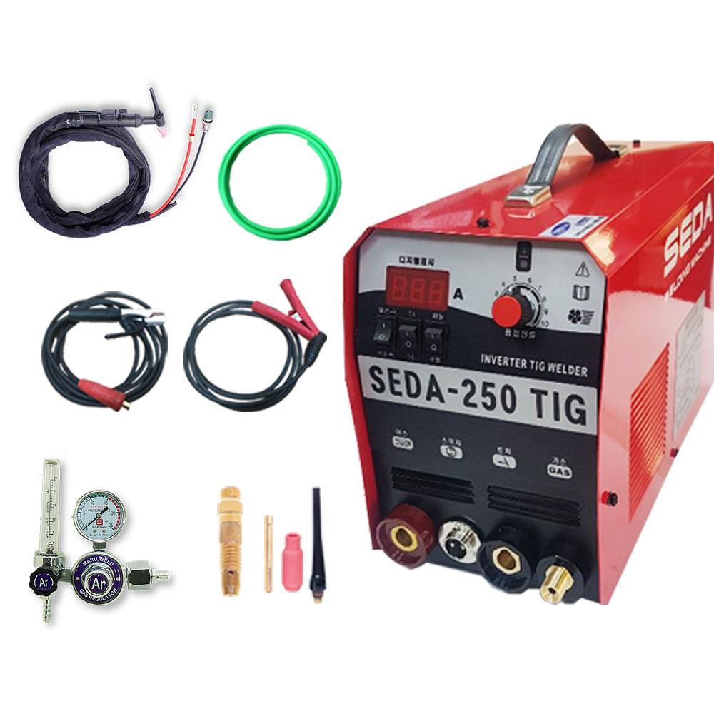 SEDA 알곤용접기(아크겸용) 풀세트 200A 250A, 1대, 알곤용접기 200A 풀세트