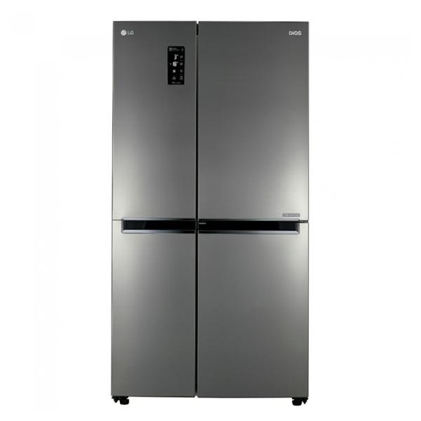 LG전자 S631S32 디오스 세미빌트인 2도어 양문형 냉장고 636L, 단일상품