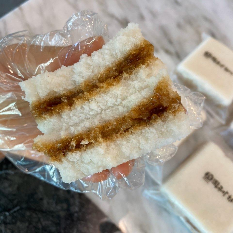 떡공방형제 꿀백설기[기본흑설탕꿀설기], 10개입, 800g