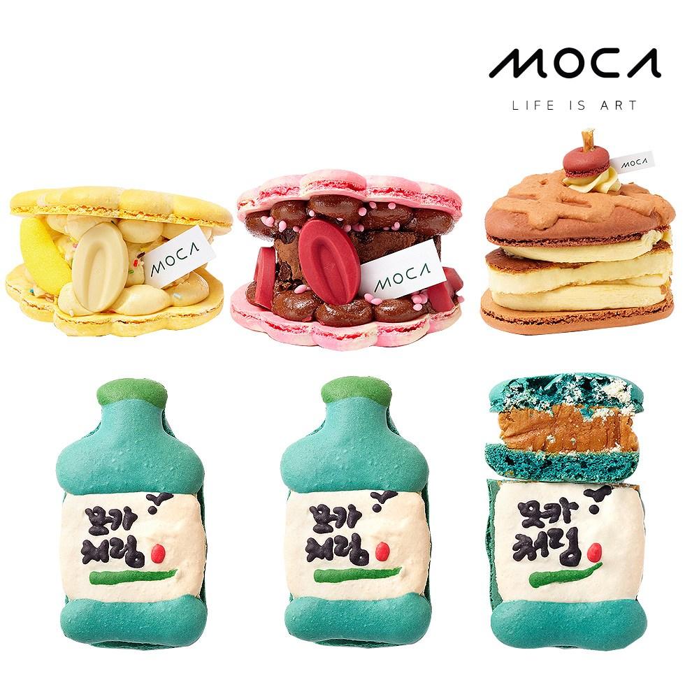 모카엔코 MOCA시그니쳐 6종세트 마카롱 디저트 케이크 빵 배달, 1개