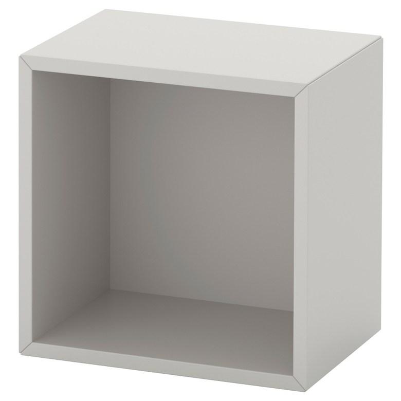 수납장 라이트그레이 에케트 35x25x35 cm, 기본
