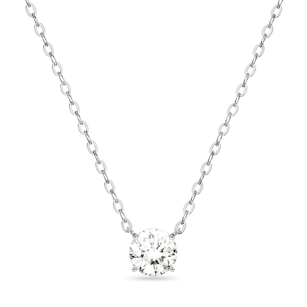 18K 목걸이 0.5캐럿 스와로브스키 시그니티 gold necklace 골드 데일리 여친 선물_NC8105