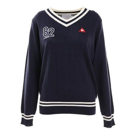 르꼬끄 골프 웨어 스웨터 추동 V넥 스웨터 QGWQJL02-NV00 PROD360009529