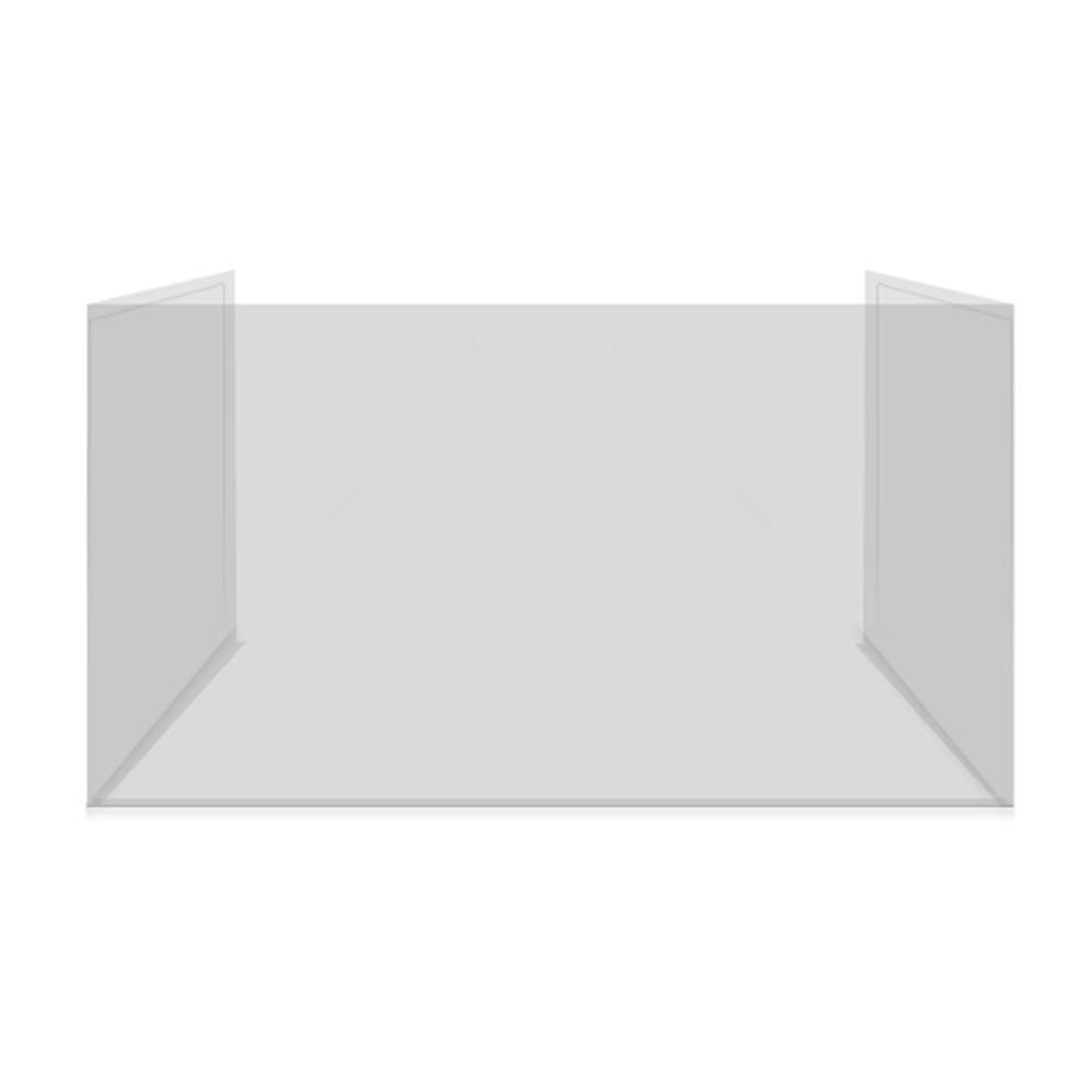 동성 위생가림판 휴대용 투명 가림막 일체형 칸막이, 단품