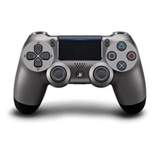 소니 PS4 듀얼쇼크4 정품 무선컨트롤러 무선 메탈 블랙, 1개