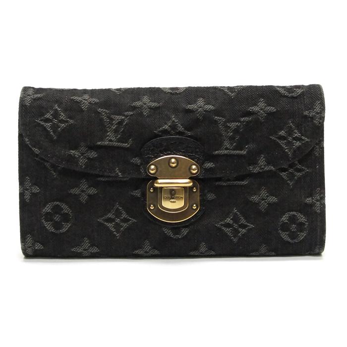 [뉴욕명품] 루이비통 지갑 모노그램 데님 아멜리아 장지갑