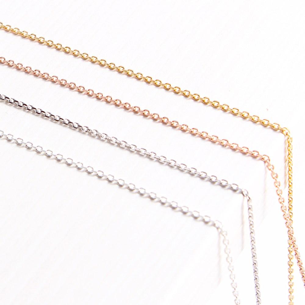 제나루체 순은목걸이 실버체인 기본체인 은목걸이 snac08001 목걸이