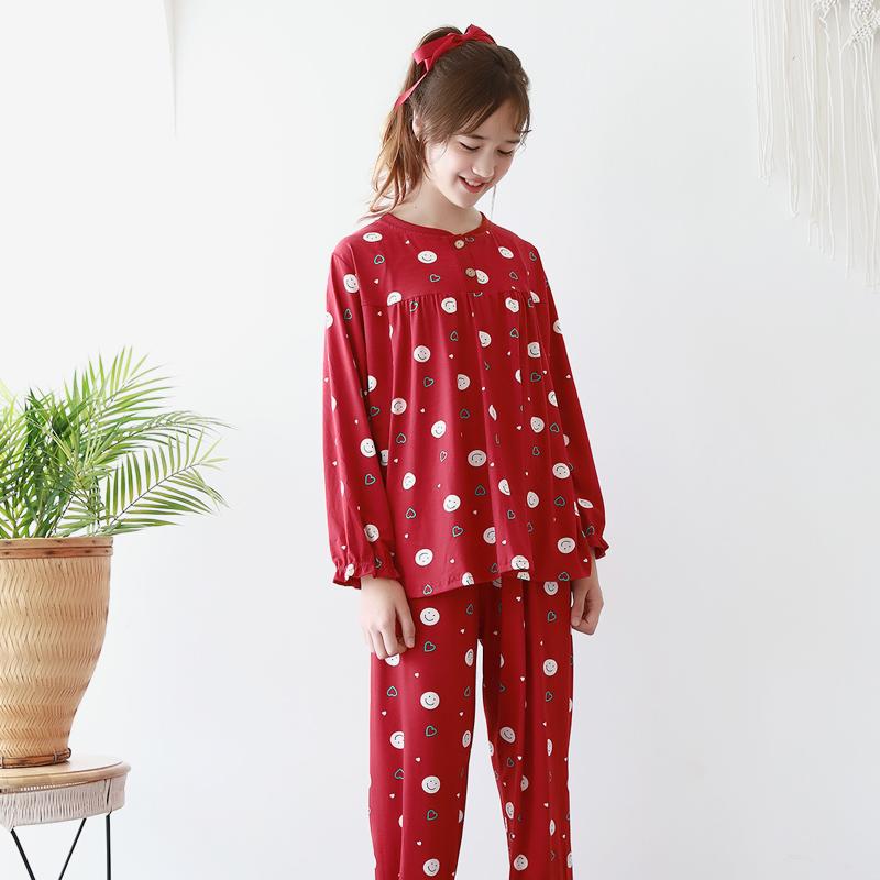 모스트맘 밀크기모 주니어세트 해피하트 잠옷