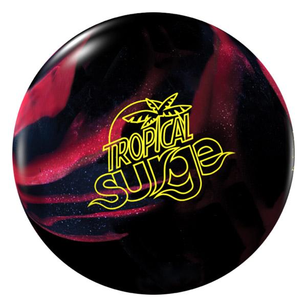 스톰 트로피칼 서지(블랙+체리) 초보자용훅볼 소프트볼 볼링공, 블랙+체리
