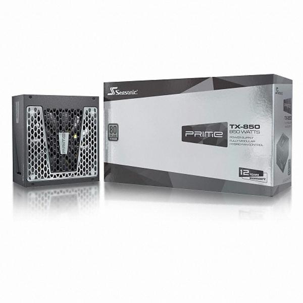 시소닉 PRIME TITANIUM TX-850 Full Modular 파워 (ATX 850W), 선택하세요