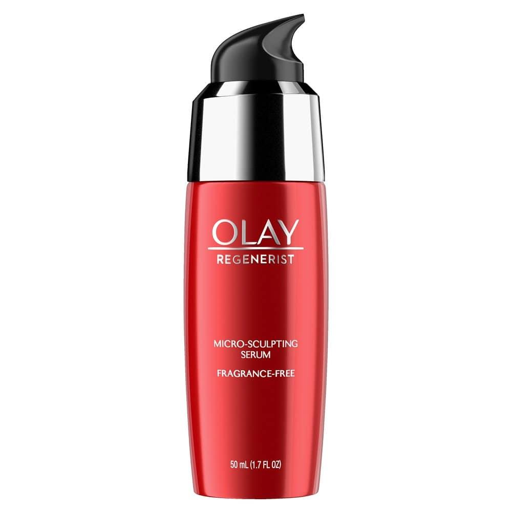 올레이 Olay Regenerist Micro-Sculpting Serum Fragrance Free 리제너리스트 마이크로 스컬프팅 세럼 50ml, 1개, 1ml