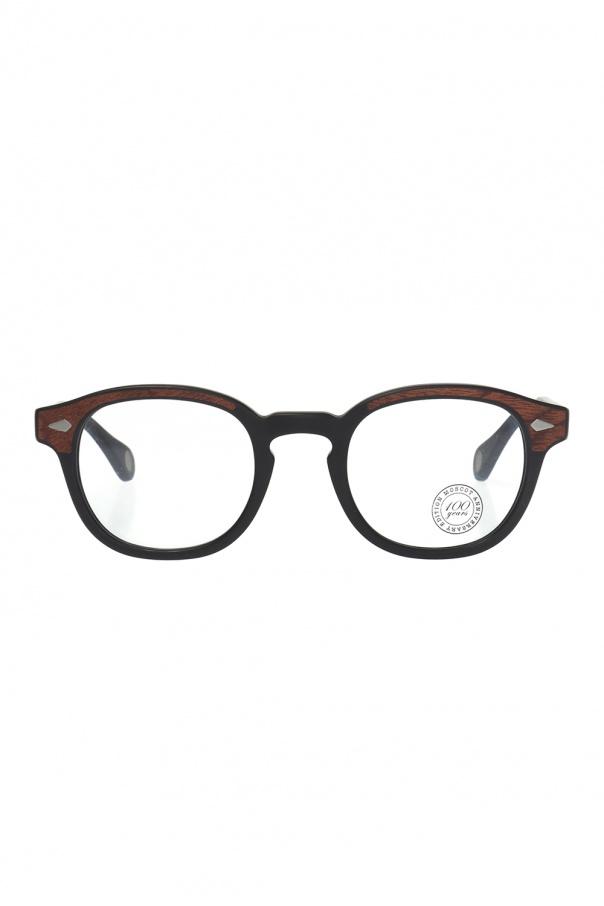 Moscot 'Lemtosh' optical glasses LEMTOSH WOOD 0-1314-01 MATTE 150불 이상 주문시 부가세 별도