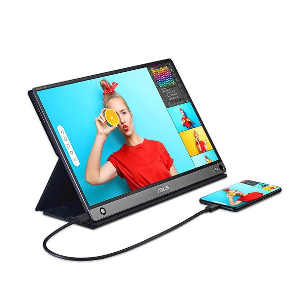 ASUS ZenScreen MB16AMT 휴대용 모니터 (터치), ASUS MB16AMT