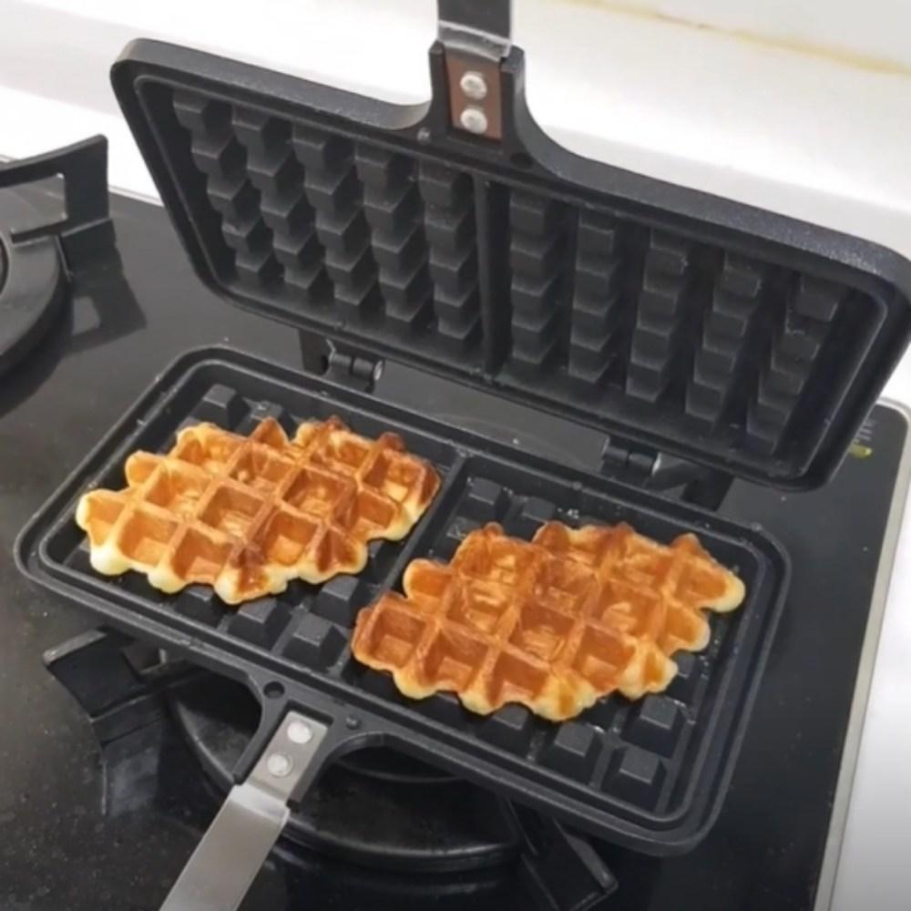 크로와상 와플 크로플 크로와플 반죽 만들기 벨기에 강민경 개리 와플 메이커 기계 생지 와플펜