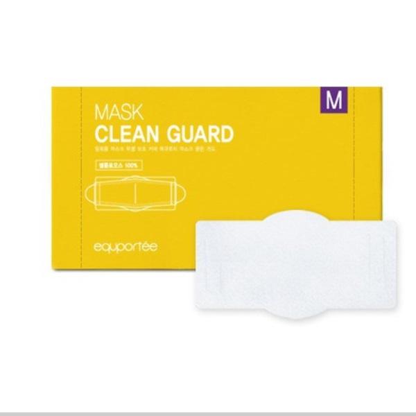 클린가드 피부보호 습기안차는 순면 마스크 위생 패드 속지 이너마스크 100매, 1박스(100매)