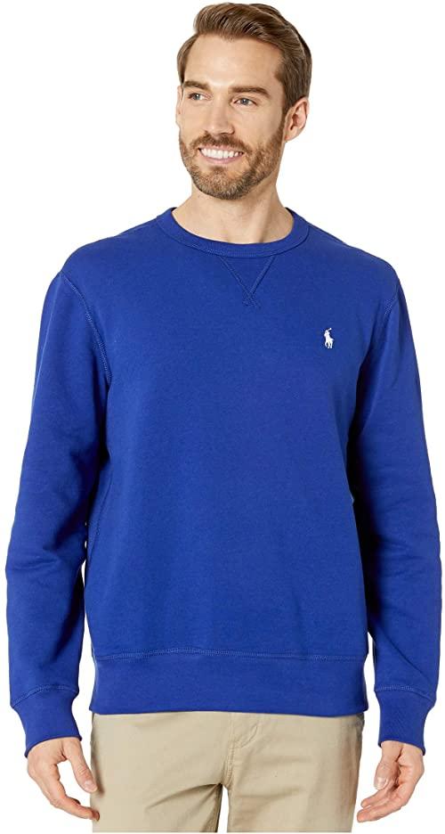 [미국]남성 맨투맨 폴로 양털 크루넥 스웨트셔츠 헤리티지 로얄
