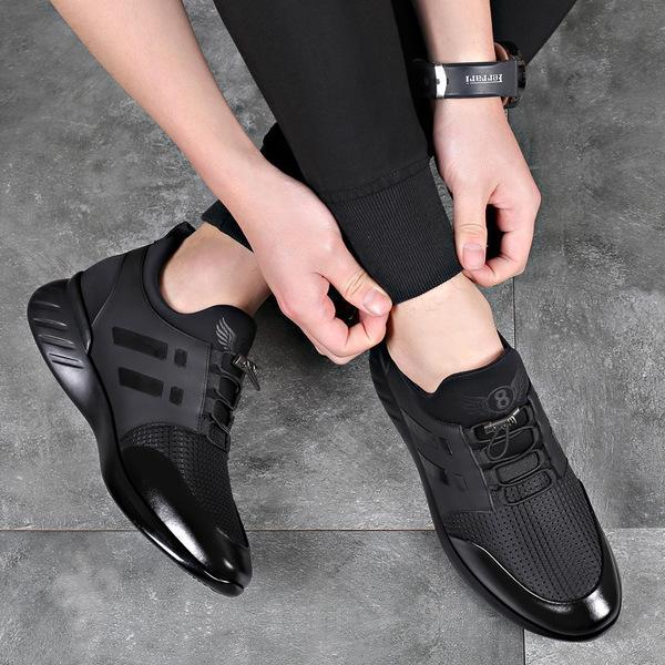 왕발 6cm키높이 빅사이즈 남성신발 발편한 비지니스화 캐주얼화 명품신발 남자명품운동화