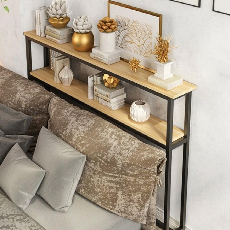 틈새선반 침대틈새선반 소파 좁고긴 테이블, B타입1000 (POP 2238472186)