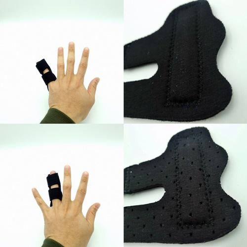 캄라이프 손가락마디통증 중지 새끼손가락보호대 깁스 손가락 부목 지지대, 기본