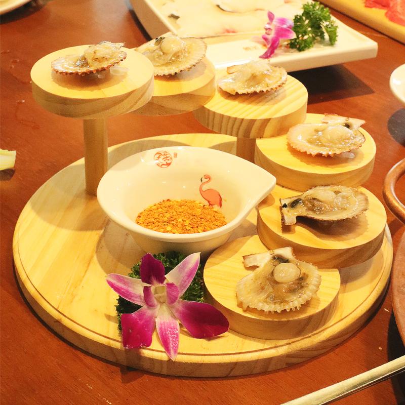 일식 5 7 계단 접시 오마카세 회 소고기 플레이팅, 5 계단