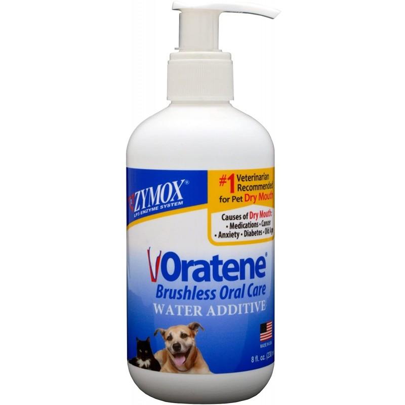 Zymox Oratene 비 오텐 식용 수 첨가제 치과 치료 애완견 8 온스 병, 1