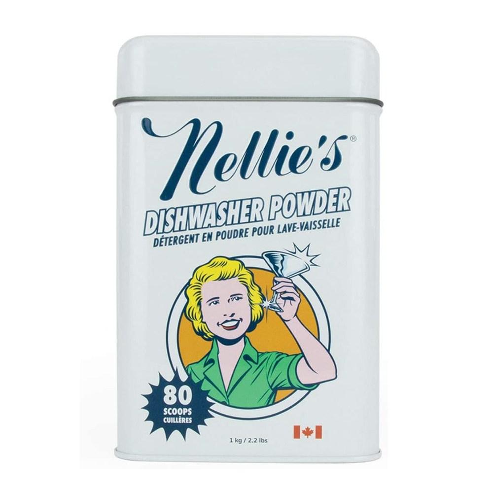 [미국 발송] 넬리 식기세척기 세제 80회분 2.2lb(1kg) Nellie's Dishwasher Powder, 1