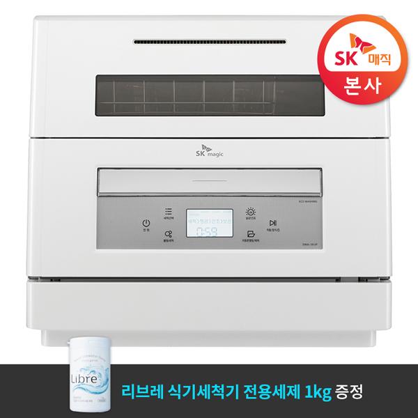 [SK매직][전용세제 증정] 자동 문열림 식기세척기_DWA1812P00WH, 단품