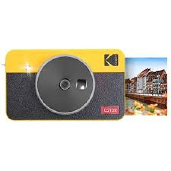 코닥 미니샷 2 레트로 카메라 프린터 콤보 옐로우 화이트, 단일상품
