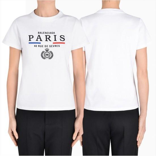 제이케이샵 발렌시아가 플래그 반팔 티셔츠 578133 TGV48 9000