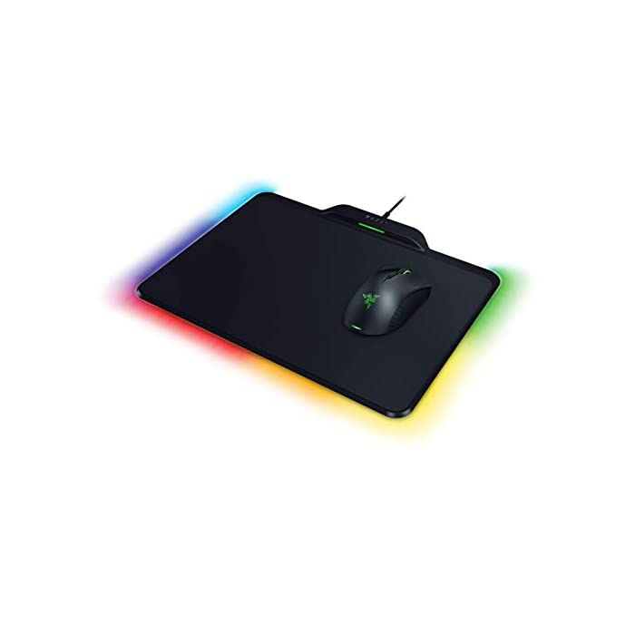 Razer (레이저) Mamba + Firefly HyperFlux 충전 필요없는 무선 마우스 전력 기능, 자세한 내용은 참조, 자세한 내용은 참조