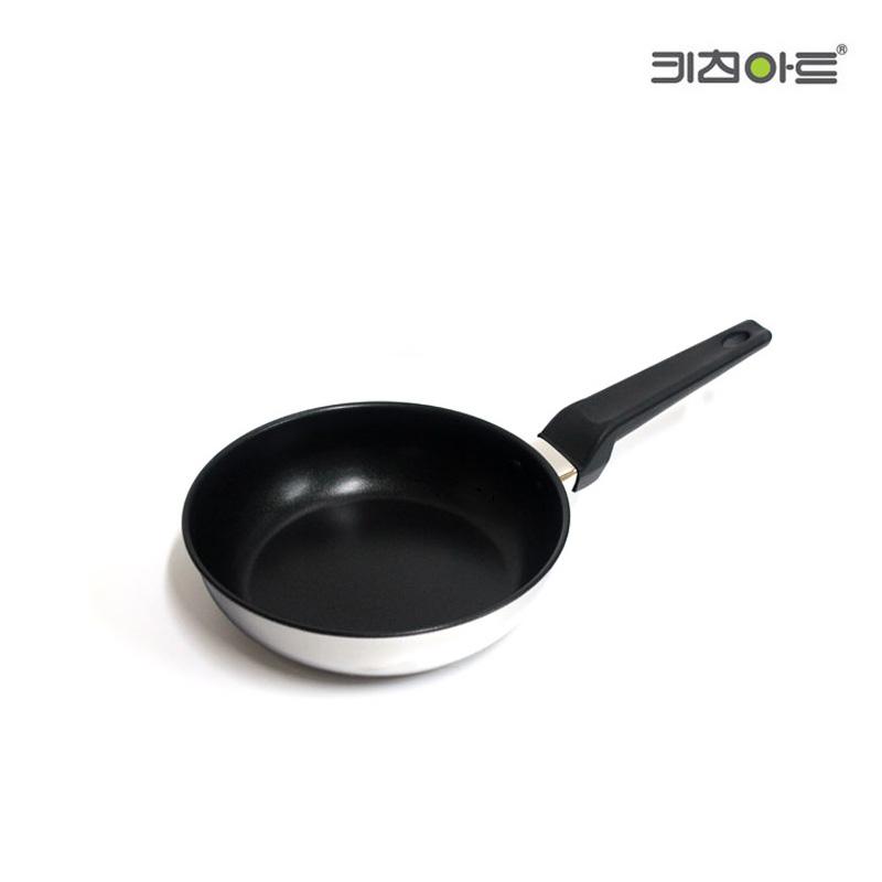키친아트 메이저 자일란코팅 스텐 후라이팬 20cm, 단일상품