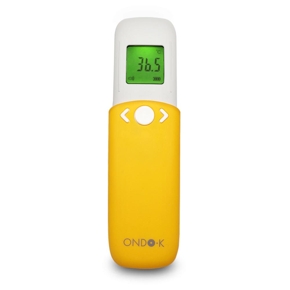 온도케이 비접촉식 적외선 온도계 ONDOK-300, 옐로우 (POP 5373708525)