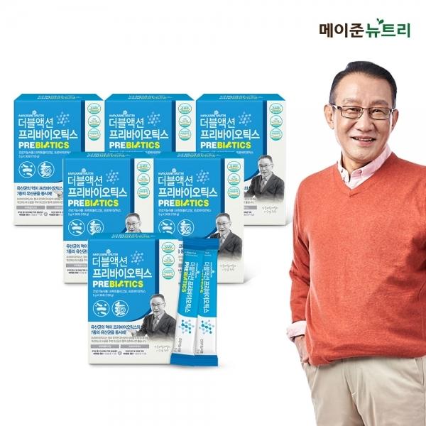 [메이준뉴트리]이승남 더블액션 프리바이오틱스(5gx30포) 6박스, 단품, 단품