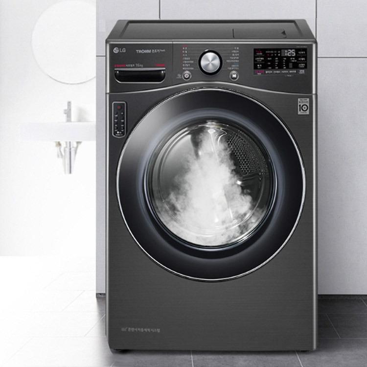 LG전자 트롬 스팀 건조기 16kg LG TROMM Steam Electric Dryer 콘덴서 자동세척 시스템, 단일상품