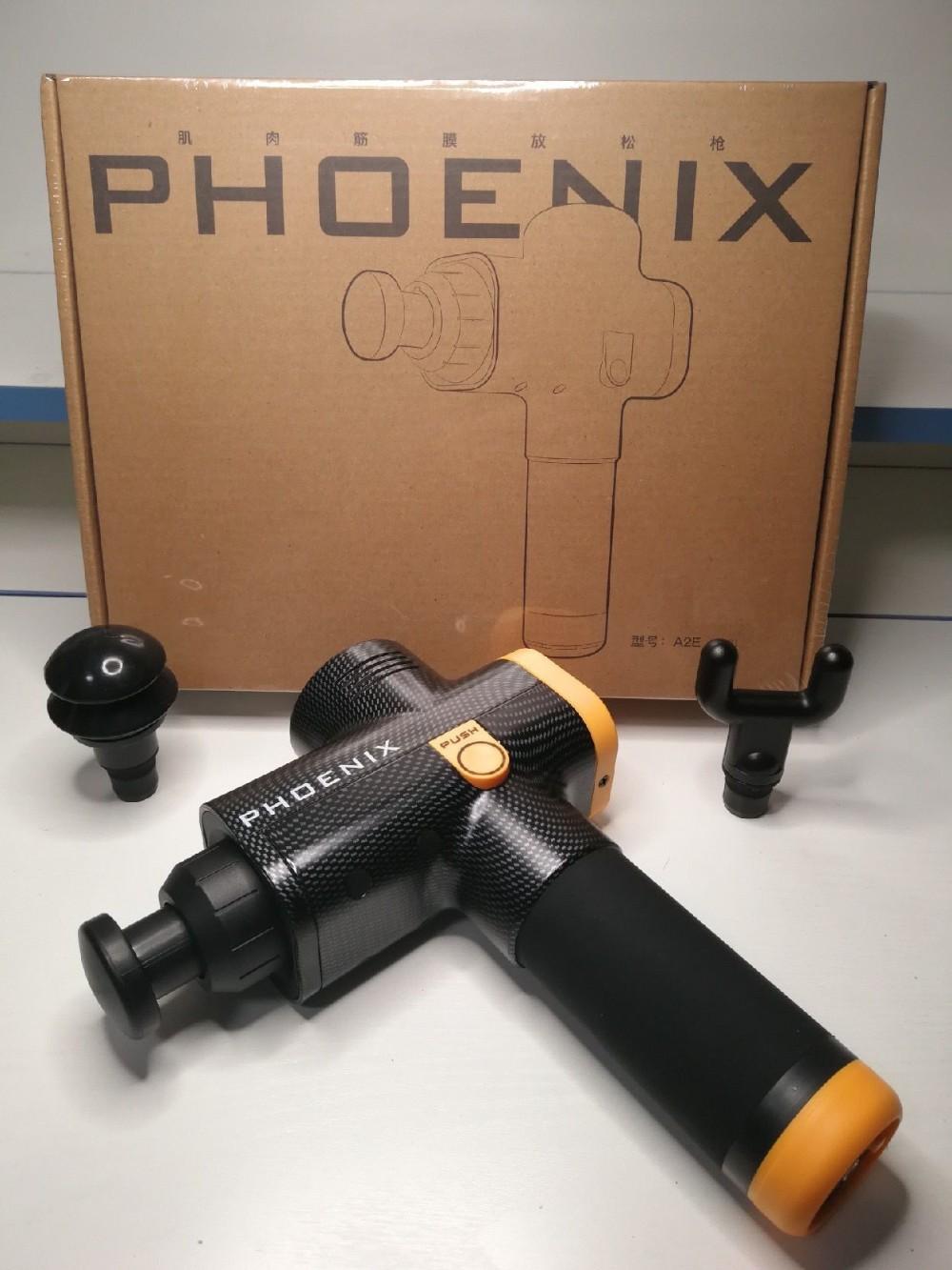 PHOENIX 피닉스 마사지건 근육 진동 마사지기 A1 A2E A3E, A2E 블랙