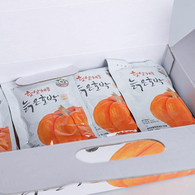 더착한가게 [채운영농조합법인] 국내산 늙은 호박즙, 30포