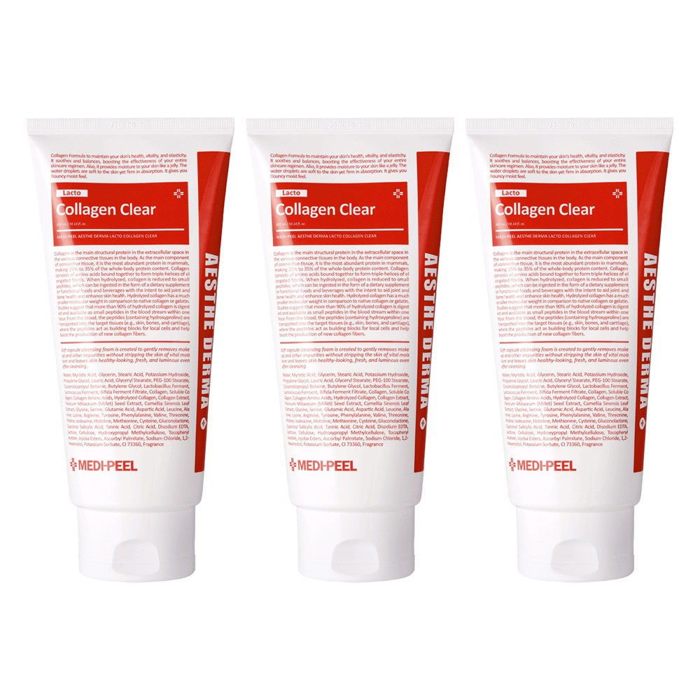 메디필 손담비 에스테 더마 유산균 콜라겐 클렌징폼, 300ml, 2+1개