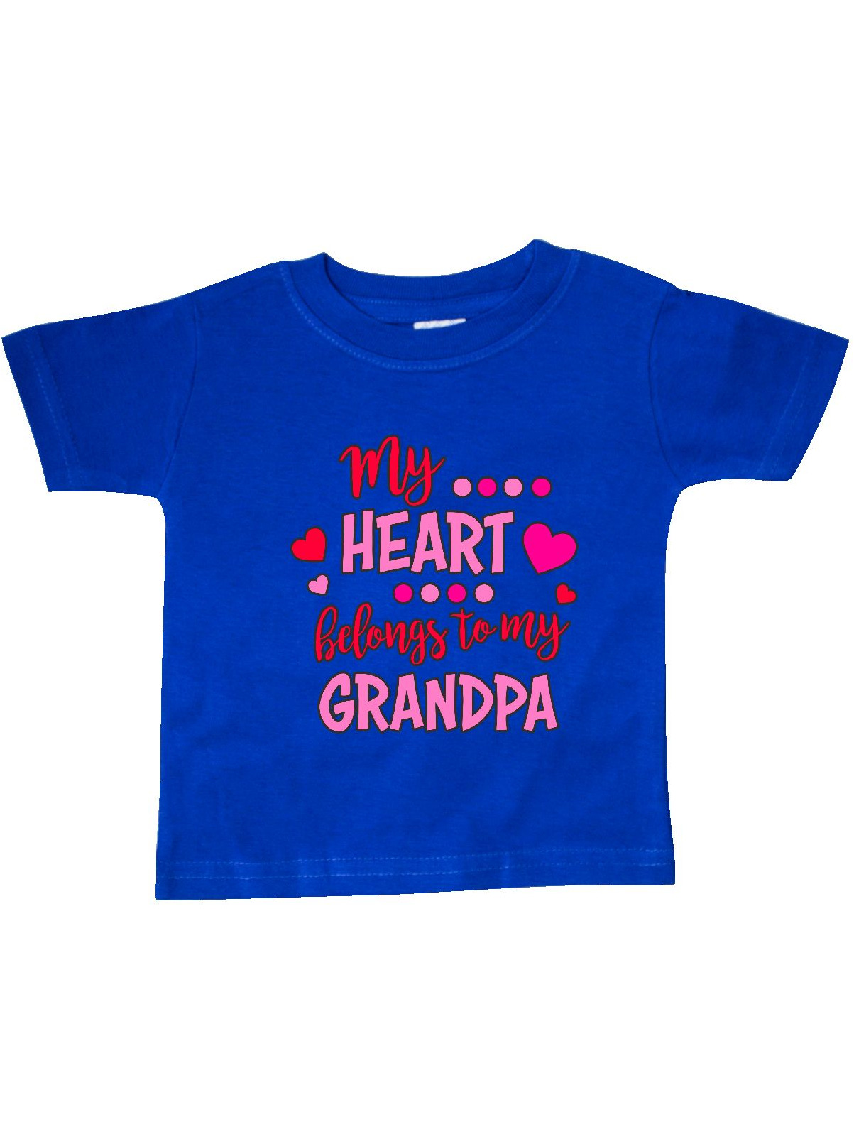 나의 마음은 아기 할아버지 티셔츠입니다.