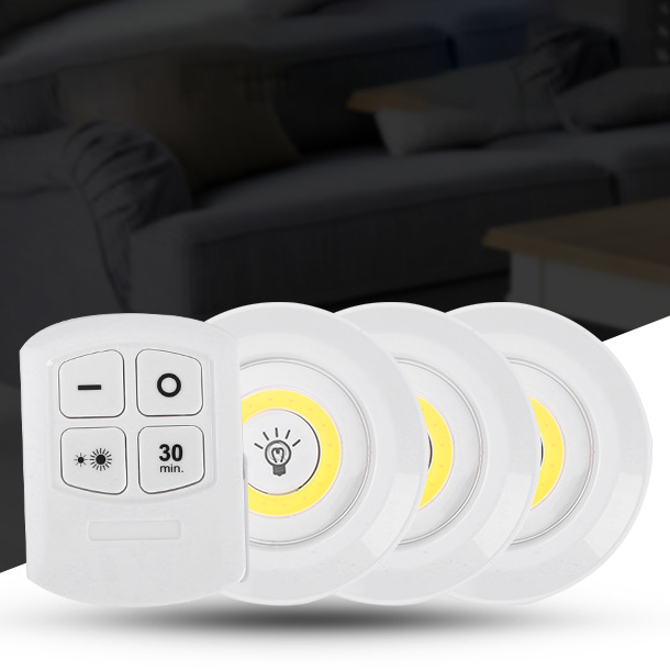 가치평 LED 롱거라이트 무드등 수면등 조명3+리모컨1 조명1+리모컨1, 웜화이트(옐로우) 조명1+리모컨1