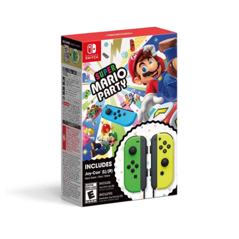 닌텐도 슈퍼 마리오파티 조이콘세트 (Super Mario Joy Con Set), 타이틀+조이콘